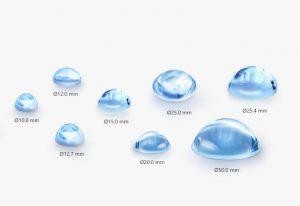 aspheric lens article