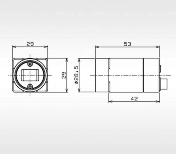 CMOS lens detail